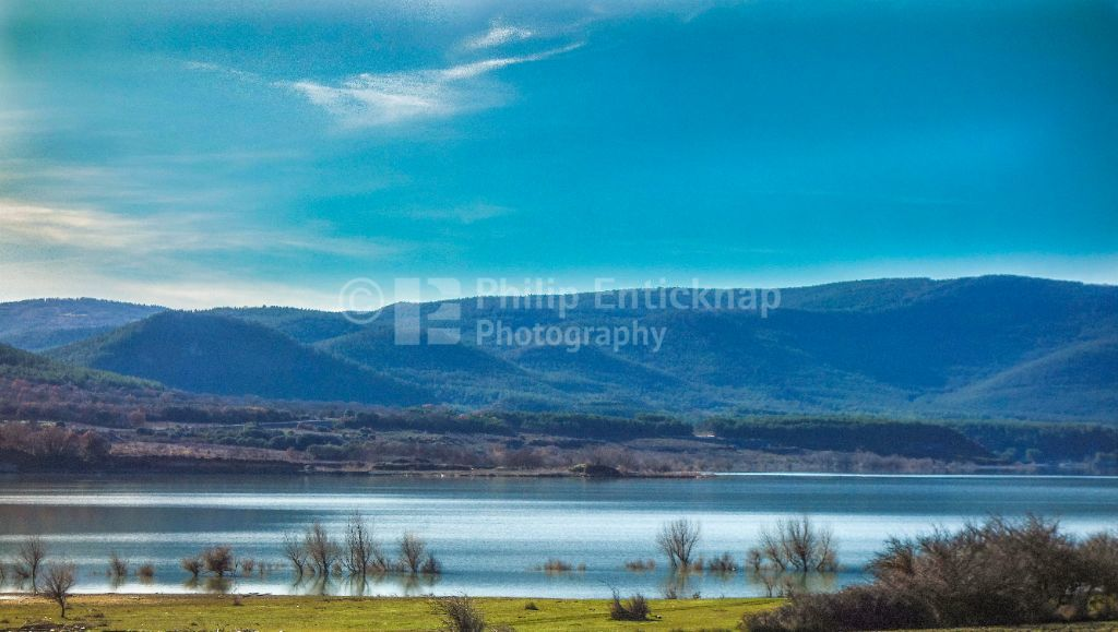 The Yesa Reservoir , Aragon Spain