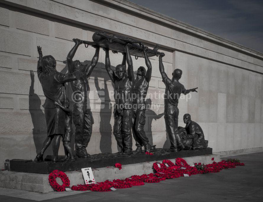 The Armed Forces Memorial at National Memorial Arboretum