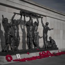 The Armed Forces Memorial at National Memorial Arboretum