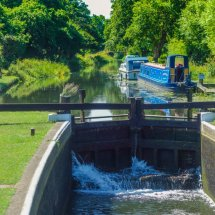 """NEW "" June 2020 ,Triggs Lock on The River Wey,Guildford, Surrey"
