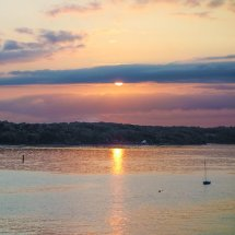 """ NEW "" September 2020 .Sunset Wootton Creek Isle of Wight"