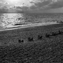 """ NEW "" October 2020 "" Beach at Hayling Island Hampshire"