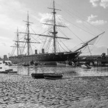 """""""NEW"""" August 2021. HMS Warrior, Portsmouth Harbour ,Hampshire"""