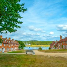 """NEW "" September 2021.Bucklers'Hard , Beaulieu, Hampshire ,England"