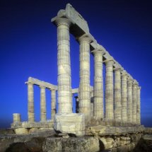 Posidons Temple, Cape Sounion,Attica ,Greece
