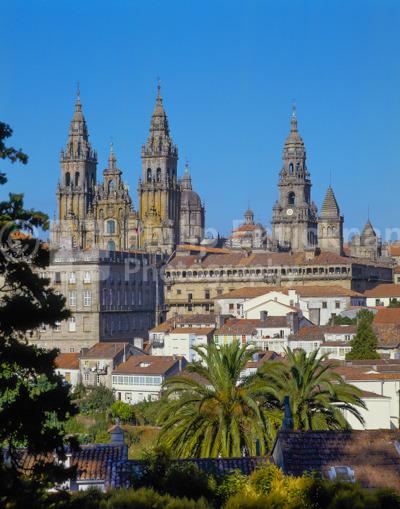 Santiago De Compostela, Galicia, Northern Spain