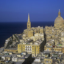View over Valletta.
