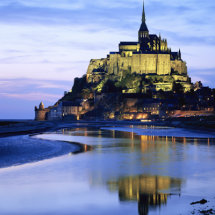 Le Mont Saint-Michel,France