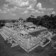 "The ""Mayan"" ruins at Palenque, Yucatan, Mexico."
