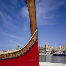 Daghajsa (Old Fashioned Rowing Boat)