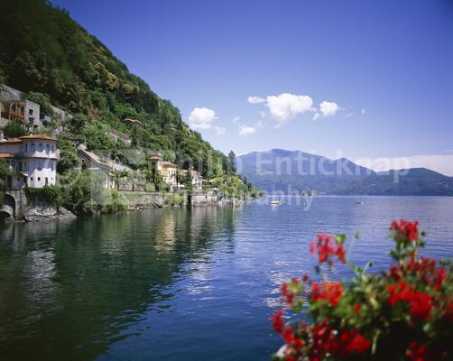Cannero Riviera, .Lake Maggiore, Italy.