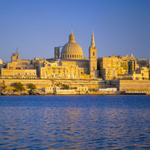 View to Valletta.