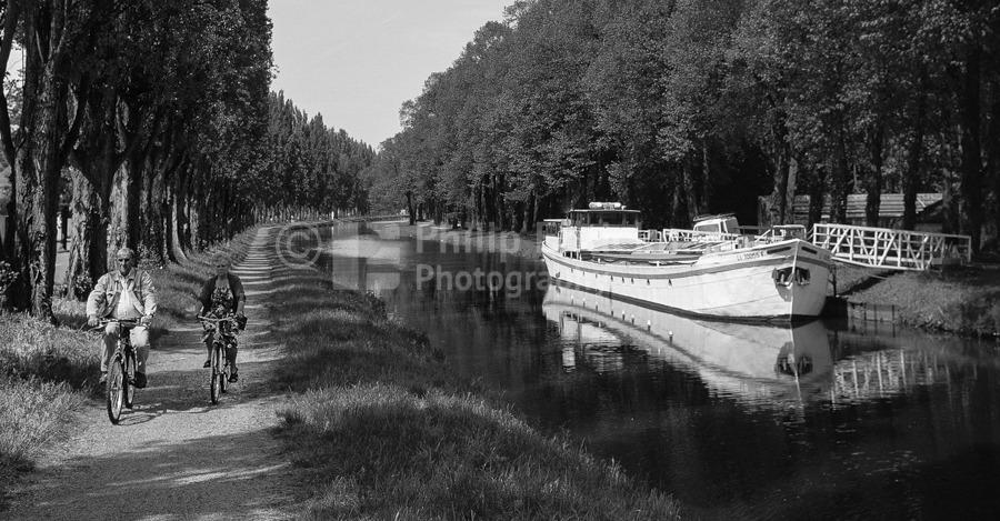 Canal De La Somme,Picardy France