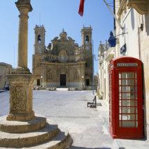 Village Square Gharb,Gozo.