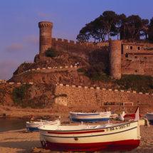 Tossa De Mar , Costa Brava,Spain