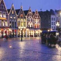 Christmas, Bruges Belgium