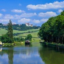 Burgundy Canal, France.