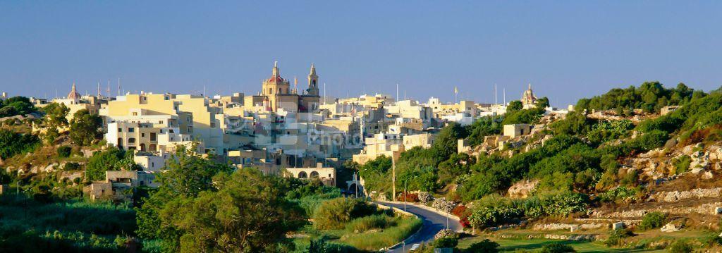 Typical Village Gozo