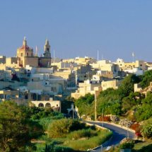 Typical Village Gozo