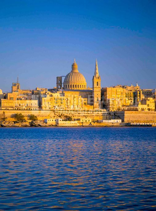 View to Valletta from Sliema