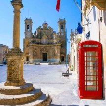 Village of Gjarb,Gozo
