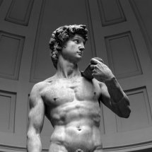 Statue of David by Michelangelo.Florence, Italy
