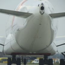 Backend of an A380