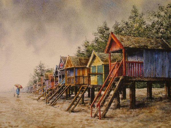 Beach huts, Wells
