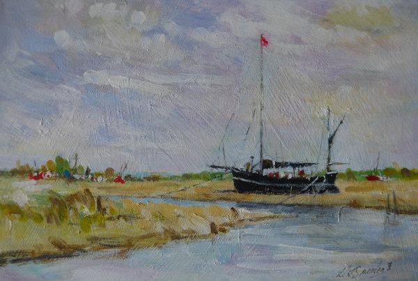 Blakeney Norfolk Acrylic