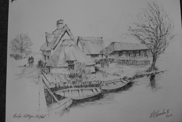 Bridge Cottage, Flatford.