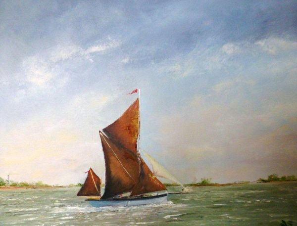 Sailing on the Stour