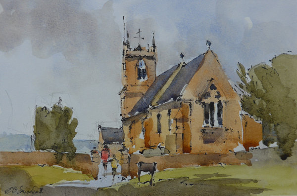 St Pauls and St Margarets Yorkshire Acrylic