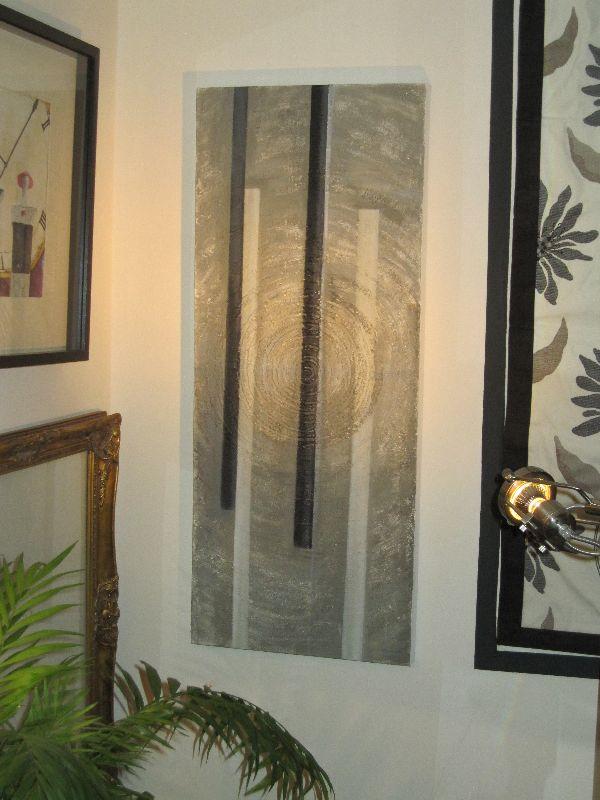 Swirls wall decoration