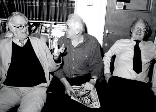 Richard Ingrams, Barry Fantoni and Christopher Booker, 2006