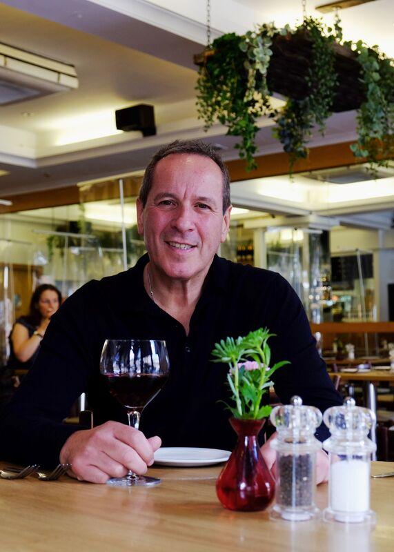 Peter Bagatti at Bagatti's Italian Restaurant