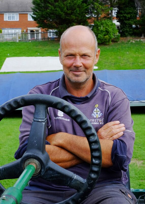 Mick, Groundsman, Whitgift Sports and Social Club