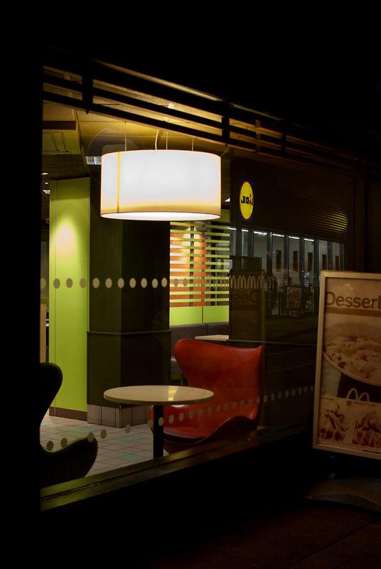Croydon at night - McDonalds, Church Street