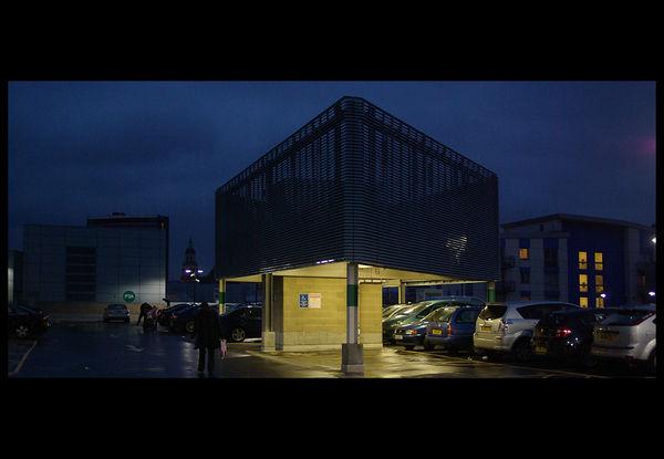 Croydon at night