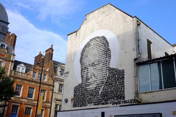 Park Street and Churchill Mural
