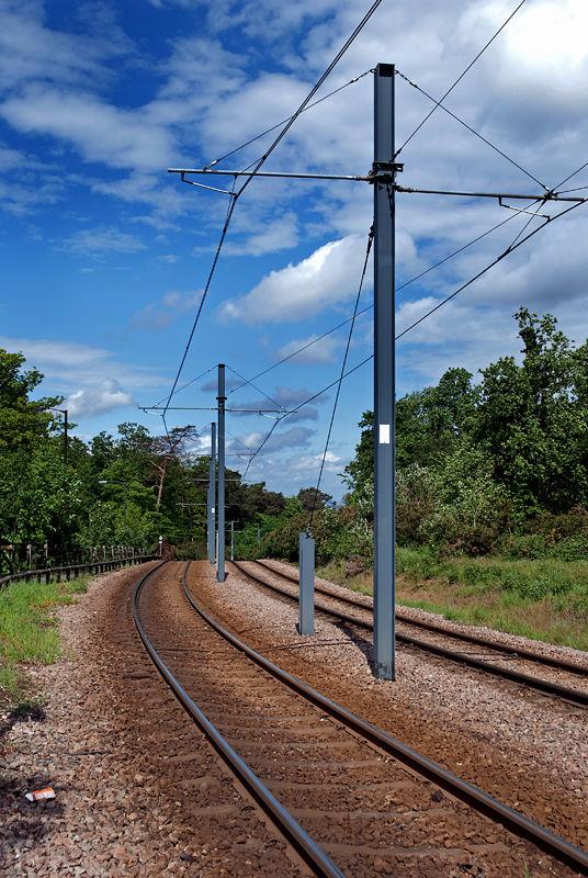 Tramlink at Coombe Lane
