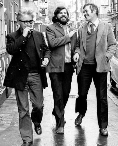 Jeffrey Bernard, Martin Tomkinson, Richard Ingrams