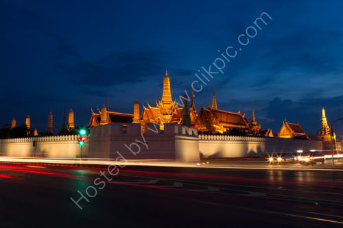 Road Opposite the Grand Palace Bangkok