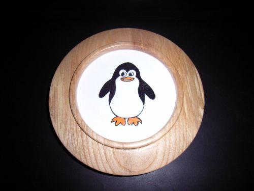Penguin : Ash : 7 inch diameter : Ref: 417