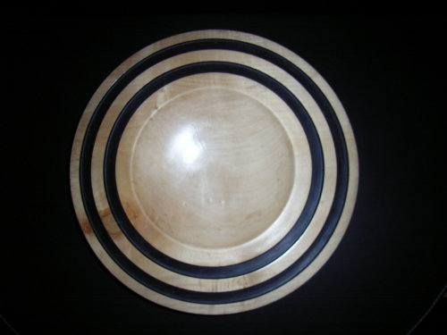 Large bowl : Sycamore : 12 inches diameter : Ref 396