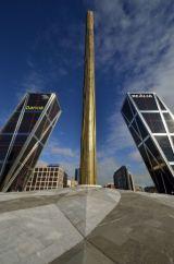 Bankia & Madrid Obelisk