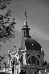 Catedral de Nuestra Senora de la Almundena Black & White