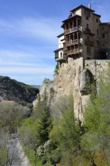 Cuenca hanging houses