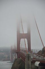 San Francisco in the mist
