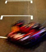 Karting blur