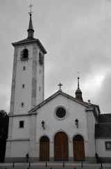 Moraleja Church in January